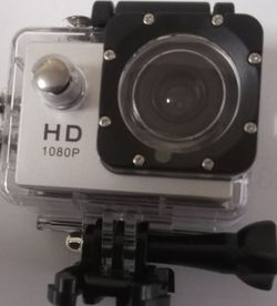 1080 HD Silver Sports Action Camera for Sale in Oklahoma City,  OK