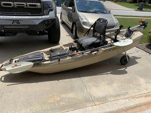 Bonafide ss107 Fishing Kayak w/ Torqueedo Motor for Sale in Loganville, GA