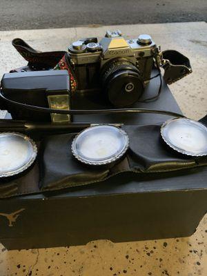 Cannon AE 1 35mm Camera Bundle for Sale in Bellevue, WA