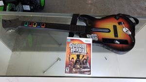 Guitar Hero with Game for Sale in Elk Grove, CA