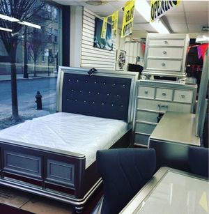 Bedroom set $50 Down no credit Check financing for Sale in Old Westbury, NY