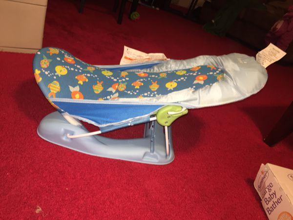 Large foldable baby bather