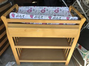 Changing table + pad for Sale in Oceanside, CA