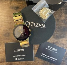 Citizen gold watch for Sale in Upland,  CA
