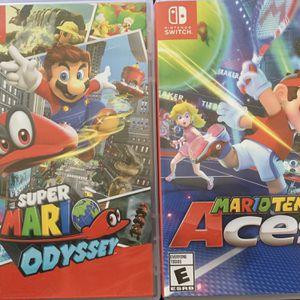 Nintendo Switch, Super Mario Games for Sale in Chula Vista, CA