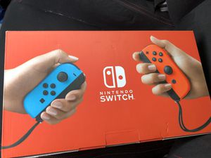 Brand New Nintendo Switch Console Neon Blue & Red Joy-Con! for Sale in Dallas, TX