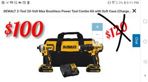 DEWALT 2-Tool 20-Volt Max Brushless Power for Sale in Marysville, WA