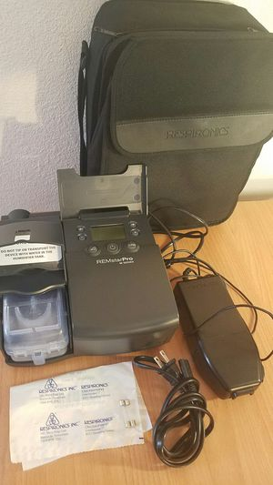 Respironics REMstarPRO M-SERIES - CPAP Breathing Machine w/ Carrying Case! for Sale in Los Angeles, CA