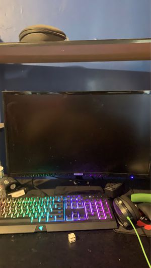 Samsung curved monitor for Sale in Norwalk, CA