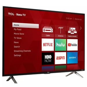 "Like New TCL 32"" CLASS 3-SERIES HD LED ROKU SMART TV - 32S305 for Sale in RCHO SANTA FE, CA"