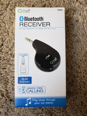 Goxt Bluetooth receiver for Sale in Saint Johns, MI