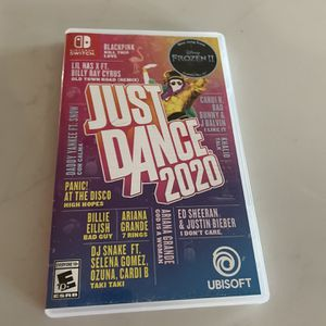 Just dance 2020 (Nintendo Switch) for Sale in Chandler, AZ
