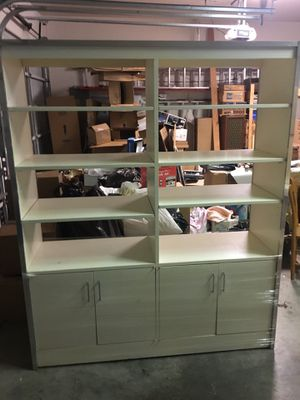 White Bookcase/Room Divider for Sale in Dallas, TX