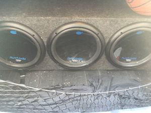 """3 12"""" subs with high power amp for Sale in Las Vegas, NV"""
