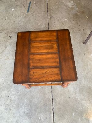 Wood end table for Sale in San Jose, CA