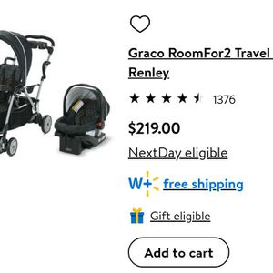 Graco RoomFor2 Travel System for Sale in North Bergen, NJ