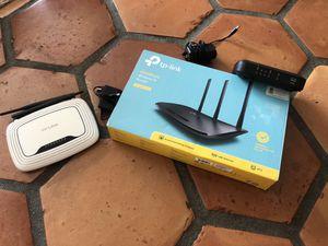 Tp Link 450Mbps Wireless N Router, Cisco modem DPC3008, tp link 300Mbps Set for Sale in Fort Lauderdale, FL