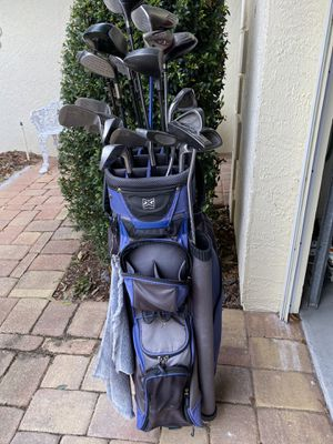 Left handed/ South Paw golf clubs and bag for Sale in Winter Haven, FL