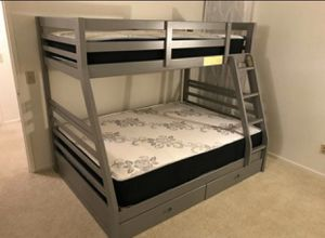 Full/twin bunk bed for Sale in Victorville, CA