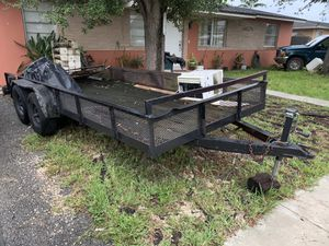 Double axle trailer 16ft for Sale in Homestead, FL