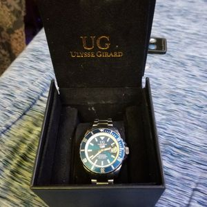 Good Condition Men's Ulysse Girard Blue Fin Watch for Sale in Evansville, IN