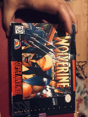 nes wolverine game for Sale in Alameda, CA
