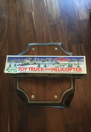 HESS TOY TRUCK and HELICOPTER collectible for Sale in Liberty Hill, TX