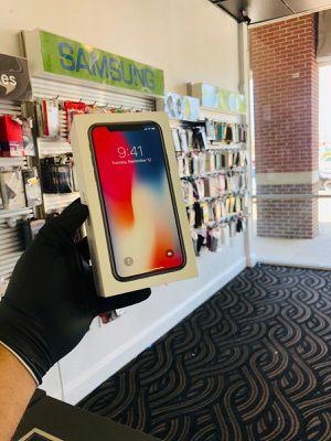 iPhone X 64gb Unlocked $499 must bring sim for Sale in Carrollton, TX