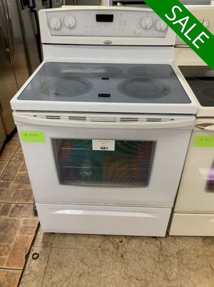 😍😍Electric Stove Oven Whirlpool Delivery Available White #925😍😍 for Sale in Deltona, FL