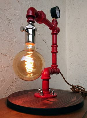 Industrial&Modern table lamp for Sale in Albuquerque, NM