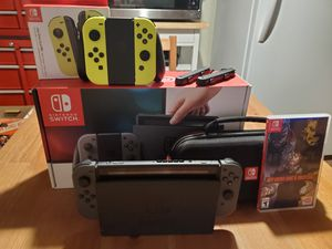 Switch with Xtra controlled and game for Sale in Sacramento, CA