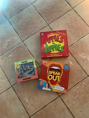 Misc games and puzzle for Sale in Encinitas, CA