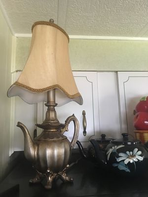 Teapot lamp for Sale in Largo, FL