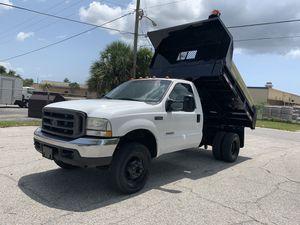 2004 Ford F-350 dump truck diesel 67,000 miles 4x4 for Sale in St.Petersburg, FL