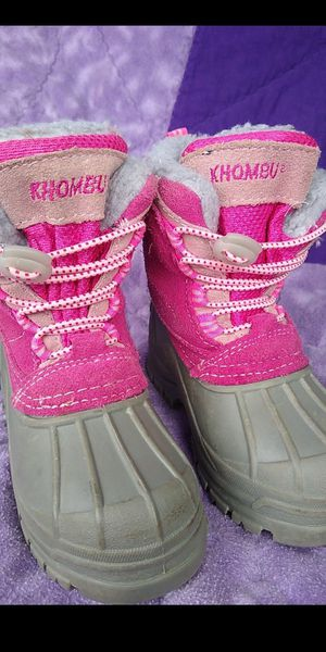 Khombu Kids winter boots /snow boots. sz 7 for Sale in Olympia, WA
