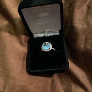 Sterling silver Topaz ring for Sale in Placentia, CA