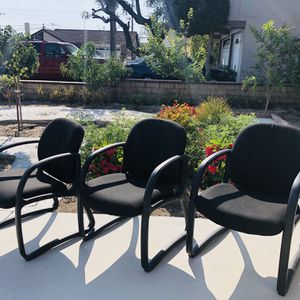Comfortable office chairs $50 each,I have Three! for Sale in Cypress, CA