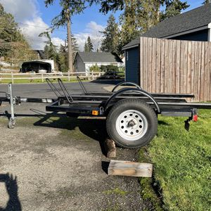 Dargo Motorcycle Utility Trailer for Sale in Silverdale, WA