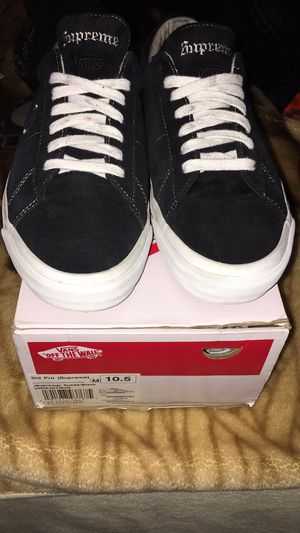 Sid Pro Supreme Suede Black Vans for Sale in Aurora, CO