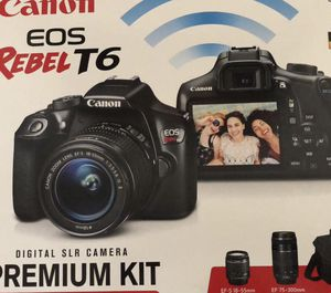 New Canon Rebel T6 for Sale in Parker, CO
