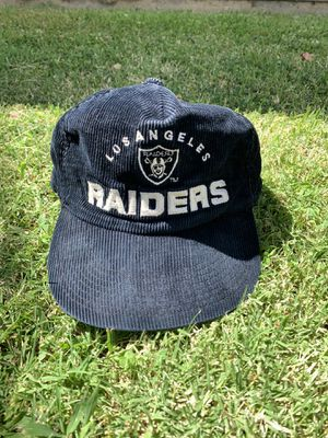 Vintage Corduroy Los Angeles Raiders Hat for Sale in Fresno, CA