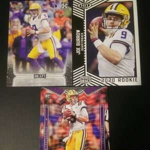 Joe Burrow Rookie Football Cards Lot for Sale in Monroe Township, NJ