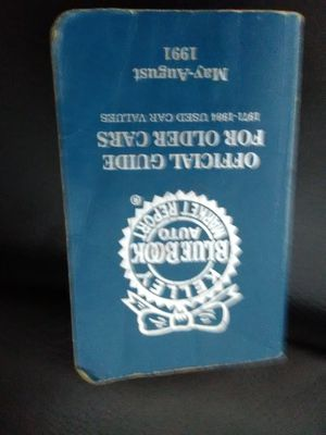 Kelly blue book 1991 for older cars for Sale in Las Vegas, NV