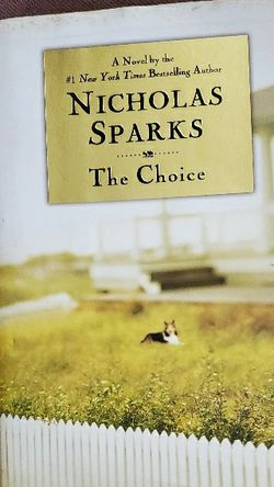 The Choice By Nicholas Sparks for Sale in Lebanon,  IL