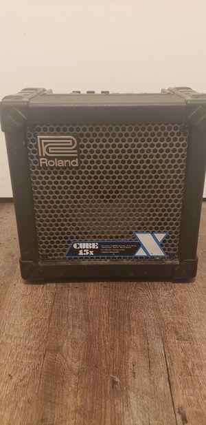 Roland Cube 15X Guitar Amp for Sale in Orangevale, CA