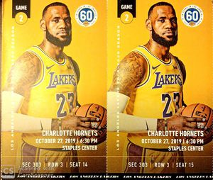 Laker Tickets for Sale in Montclair, CA