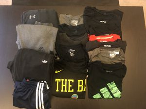 Men's clothes- 12 T-shirts- mostly adidas and . . . for Sale in Everett, WA