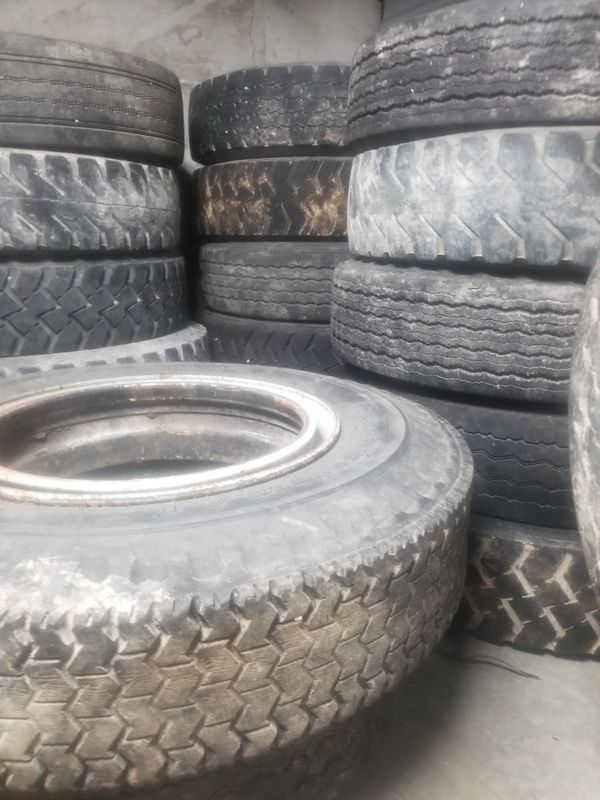 Used Big rig tires and auto tires