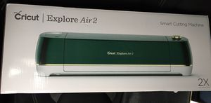 Cricut explore air2 cutting machine for Sale in Houston, TX