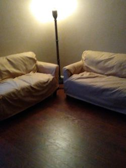 Modern 4 Black Sofa With Golden Covers for Sale in Philadelphia,  PA